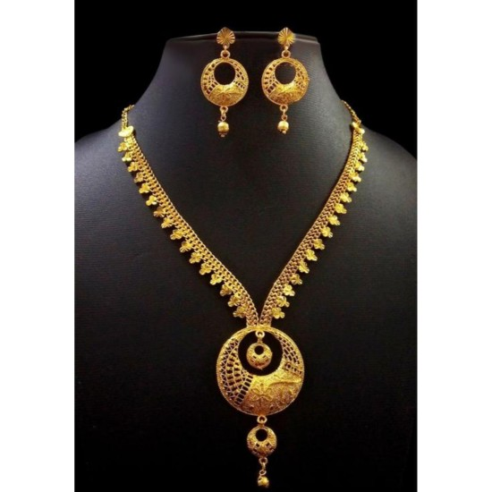 Generic Copper, Gold Color Jewellery set for Women-29699