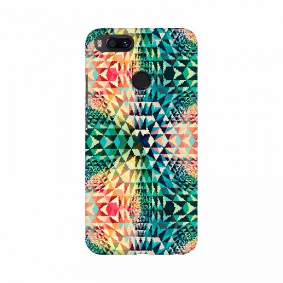 Abstract Colorful Trigangle pattern Mobile Case Cover