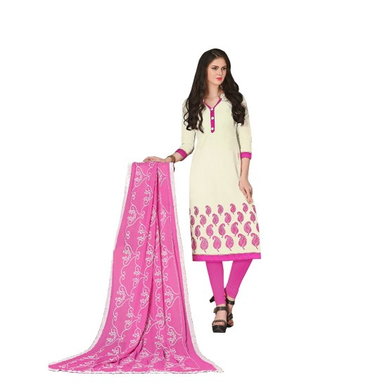 Chanderi-Fabric-Off-White--Color-Dress-Material-16188