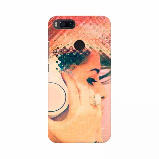 Always Listening Music Mobile Case Cover